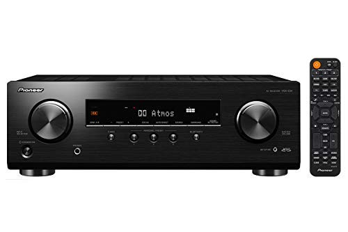 Pioneer VSX-534 5.2-Ch Avr, 4K, HDR10, Dolby Vision/Atmos/Virtual & Bluetooth by PIONEER