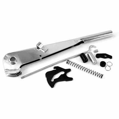 EMPI 4549 Chrome Emergency Brake Handle Kit - VW Dune Buggy Bug Ghia Trike Baja Beetle (Chrome Brake Handle)