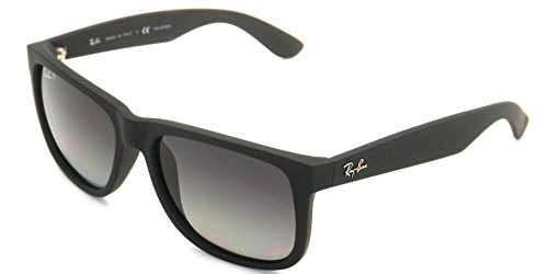 t3 grey Authentic Rubber ban Black 55mm Ray 4165 Polarized 622 Justin Gradient Rb qvS4wYq