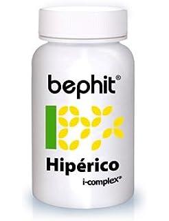 Bephit Hipérico + Triptófano + Vitamina B6 460 Mg Suplemento - 60 Cápsulas
