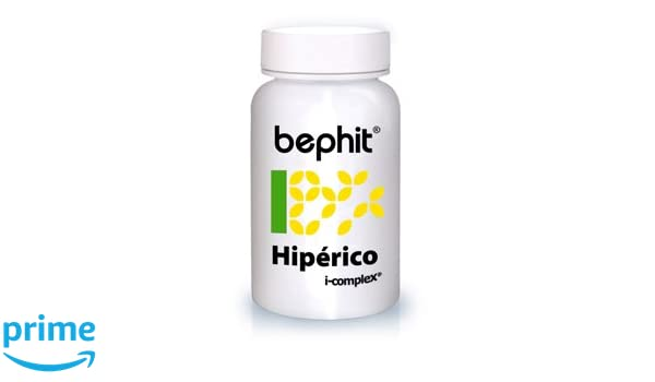 Bephit Hipérico + Triptófano + Vitamina B6 460 Mg Suplemento - 60 Cápsulas: Amazon.es: Salud y cuidado personal