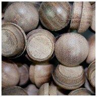 WIDGETCO 1/2'' Walnut Button Top Wood Plugs
