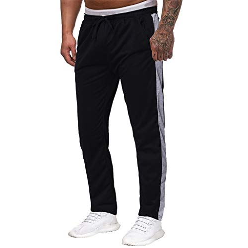 MIS1950s Men's Sweatpant Joggers Athletic Pants for Jogging, Workout, Gym, Running, Training with - Dvd Nba Baby