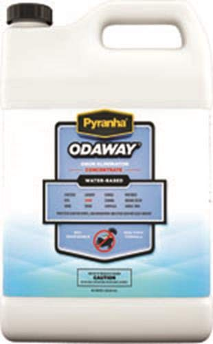 Thompson Vet Supplies PYRANHA 4 Concentrate Odaway Odor Absorber, 1 Gallon by Thompson Vet Supplies