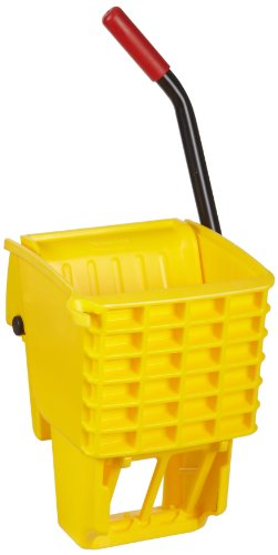 - Rubbermaid Commercial FG612788YEL Side-Press Wringer for 13- to 32-ounceWaveBrake Mop Buckets, Yellow