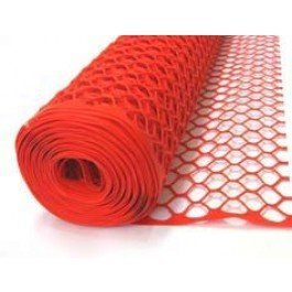 Tenax Sentry Secura Safety Fence, orange, 6 by 50-Feet