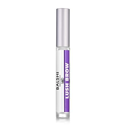 f6493e192d8 LUSH BROW Eyebrow & Eyelash Growth Serum - Dermatologist Developed Brow & Lash  Growth Enhancer To Grow Full, Sexy Eyelashes & Eyebrows .16 oz/5mL