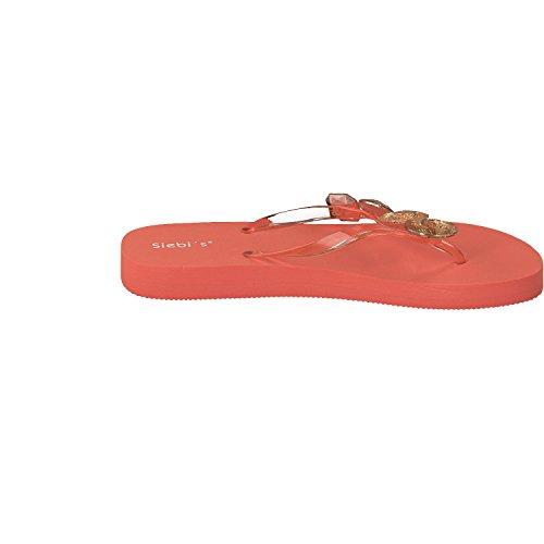 salti miami alla da Arancione moda mortali Siebi's ciabatte Donna spiaggia EpUnq05wx