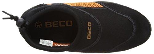 Beco Zapatillas de surf Hombre Multicolor (Negro/Naranja)