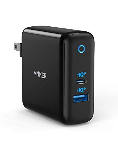 Amazon.com: Anker 60W PIQ 3.0 & GaN Tech USB C cargador ...