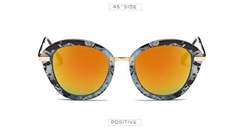 C2 Lunettes De Femme AT543 Orange Blind UVB Sol Elegant Gafas Imprimer Lunettes Femme C5 Noir 100 Color Femmes de Lunettes soleil Casual Bleu Zygeo UVA fx6Hq0H