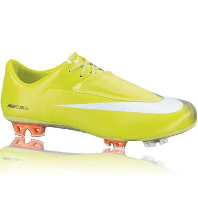 Nike Mercurial Vapor VI FG Mens Soccer Cleats [396125-311] Bighht Cactus/White-Anthracite Mens Shoes 396125-311 Yellow C8Mt1