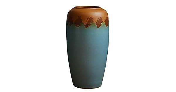 Amazon.com: Jarrones de cerámica seco flor retro creativo ...