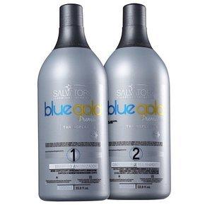 Salvatore Premium Blue Gold Progressive Brush 2x1L - - X 1 Brush