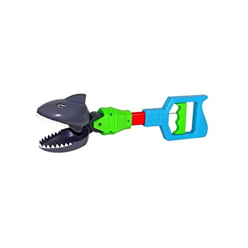 (VEBE Kids Grabber Shark Alligator Claw or Dinosaur Fine Motor Hand Toy What's Hot (Shark))