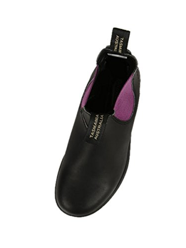 BLUNDSTONE DONNA BCCAL 0363 1347 POLACCHINO NERO-FUXIA VITELLO FALL-WINTER 2016