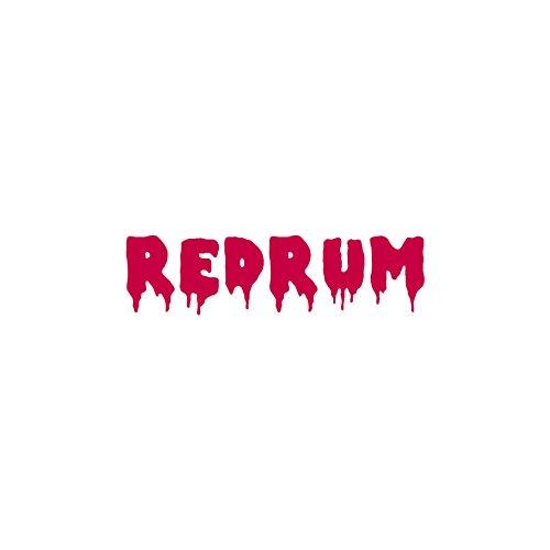 Redrum Sticker - Redrum Murder - Vinyl Decal Sticker - 12
