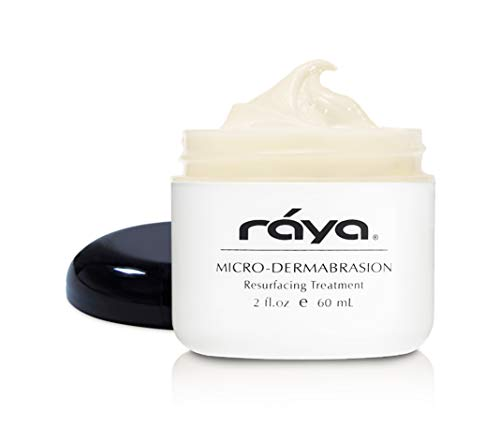 RAYA Microdermabrasion Facial Cream (107) | Gentle, Resurfacing, and Exfoliating Treatment for-Non Problem Skin | Helps Minimize Fine Lines and Wrinkles ()