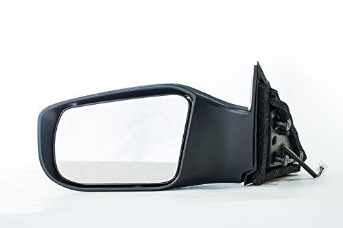 Driver Side Mirror for Nissan Altima Sedan (2013 2014 2015 2016 2017) Left Outside Rear View Unpainted Non-Heated Non-Folding Replacement Door Mirror - NI1320223
