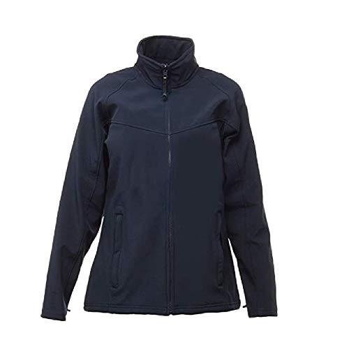 Regatta Womens/Ladies Uproar Soft Shell Jacket (24 US) (Seal Grey)