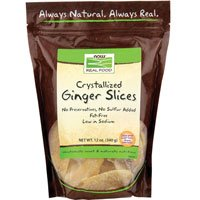 Now Foods Ginger Slices (Crystallized) - 12 oz. (Multi-Pack) (4 pack)