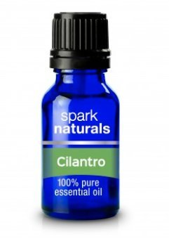 Cilantro Essential Oil 15ml Spark Naturals - 100% Pure Therapeutic Grade, Highest Organic Quality, Aromatherapy, Natural Product- Diffuser & Humidifier Friendly