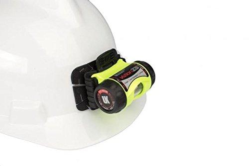 Underwater Kinetics 3AAA eLED Vizion I Headlamp, w/Helmet Mounting Plate, Black, - Kinetics Lamp Underwater