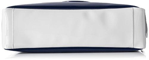 Armani 922548CC852, Borsa con Maniglia Donna Mehrfarbig (Blu/Bianco/Tortora 39735)