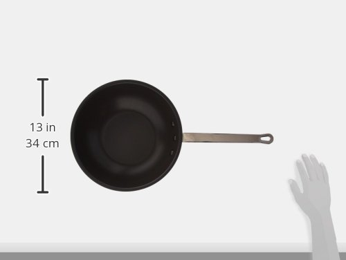 Royal Industries Non-Stick Stir Fry Skillet 7 NSF Certified Commercial Grade