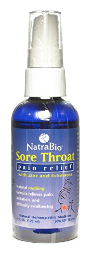 - Natra-Bio Sore Throat Spray