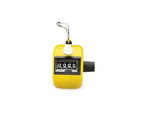 Jackie Yellow Counter Mechanical Clicker
