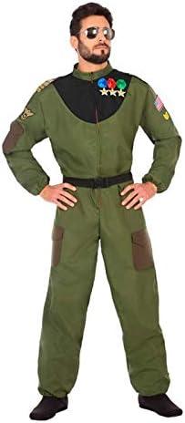 DISBACANAL Disfraz de piloto Militar para Hombre - -, M-L: Amazon ...