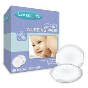 Lansinoh Ultra Soft Nursing Pads, 36 Count (Pack of 4)