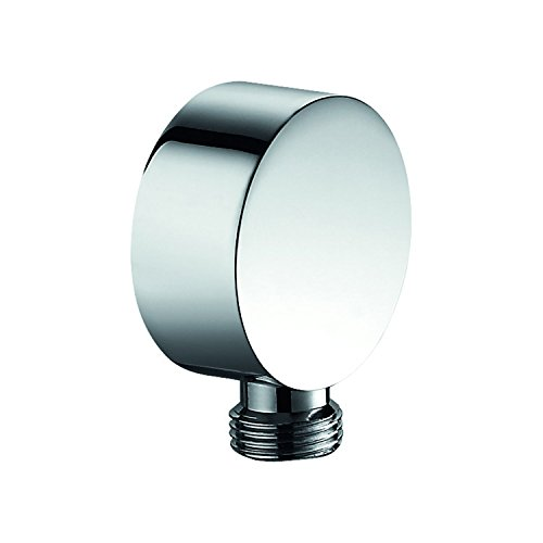 DAX Shower Outlet Elbow, Wall Mount, Brass Body, Chrome Finish, 2-3/4 x 2-3/4 x 2-3/4 Inches (Shower Outlet Elbow)