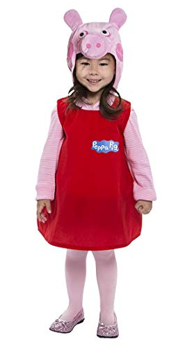 Peppa Pig Dress Costume for Toddler]()