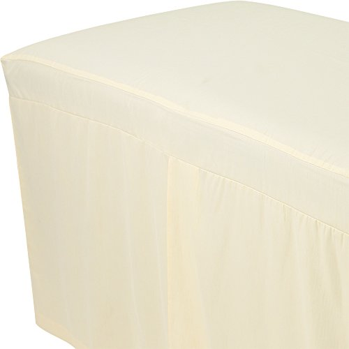 For Pro Premium Table Skirt Natural Massage Linen