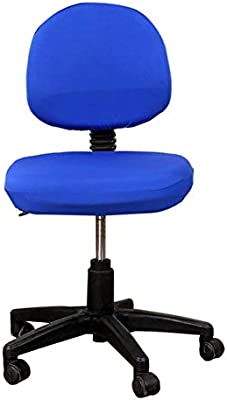 Astonishing Deisy Dee Computer Office Chair Covers Pure Color Universal Chair Cover Stretch Rotating Chair Slipcovers Cover C091 Royal Blue Caraccident5 Cool Chair Designs And Ideas Caraccident5Info
