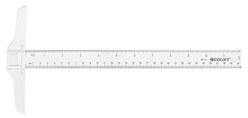 Westcott 12-inch Student T-Square