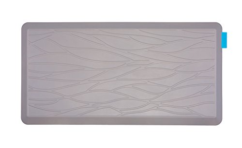 NUVA Salon Antislip Anti-fatigue Mats Antimicrobial >99.9%, Non-toxic Odor, Water Resistant, 39x20x0.75 (Grays 10 Floor Mat)