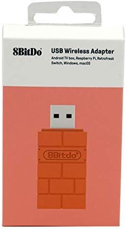 8Bitdo RET00102 Tarjeta y Adaptador de Interfaz Bluetooth - Accesorio (USB Tipo A, Bluetooth, Marrón, Android, 50 g, 130 mm): Amazon.es: Informática