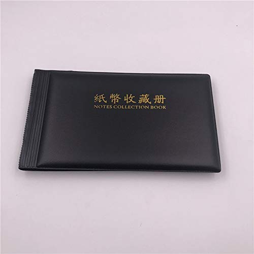 (Photo Album - Grade Pu Paper Money Collection Album 30 Pcs Loose Leaf Currency Book Put Less Than 195x110mm - Paper Album Photo Album Big Coin Scrapbook Albums Currency Costume Thermal Photo Bav)