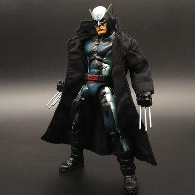 VIET FG Wolverine Prequel Rogan Movie Version Action Figure with Vest X -Men Toy Model Wolverine Claw Deadpool Ornaments -Complete Series Merchandise