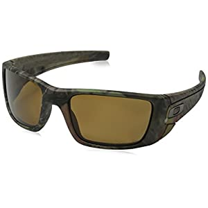 Oakley Men's Fuel Cell OO9096-D9 Polarized Wrap Sunglasses