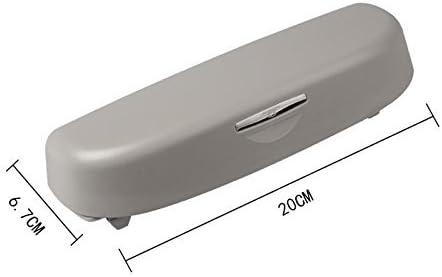 Ictronix Sonnenbrillenhalter Ersatzteile Brillenetui Brille Fall Grau Auto