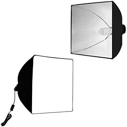 LS Photography 19 x 19 Soft Box Lighting Kit with Cover TEM-LGG782 Photography Light Stand