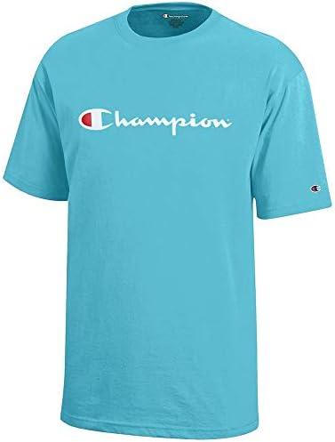 スクリプトロゴ ユース (ターコイズ ウォーター) 半袖Tシャツ