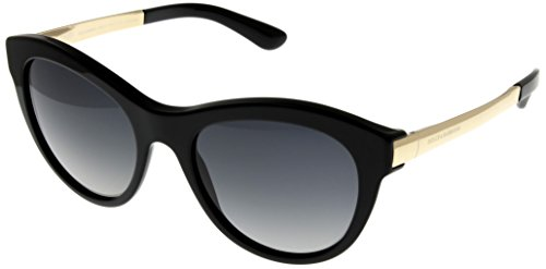 Dolce & Gabbana Sunglasses Women Polarized Black DG4243 501/T3 by Dolce & Gabbana