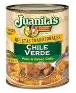 Juanita's Chile Verde 25 Ounce ()
