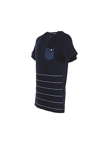 T-shirt Uomo Sseinse M Blu Me1010ss Primavera Estate 2018