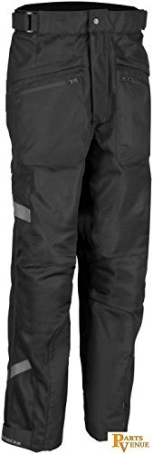 Firstgear HT Air Overpants , Size: 40, Size Modifier: Tall, Gender: Mens/Unisex, Distinct Name: Black, Primary Color: Black, Apparel Material: Textile